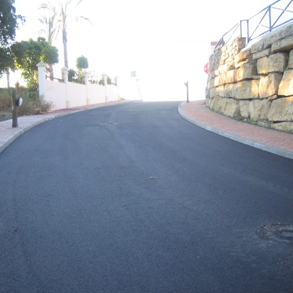 ASPHALTING OF STREETS
